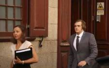 Triple murder accused Henri van Breda leaves court. Picture: Cindy Archillies/EWN