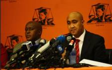 FILE: Shaun Abrahams briefs the media at the NPA headquarters. Picture: Kayleen Morgan/EWN