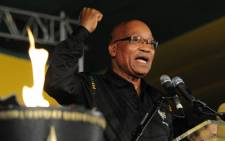ANC President Jacob Zuma speaking at the end of the 53rd ANC conference in Mangaung. Picture: ANC