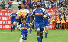 Stormers captain Siya Kolisi leads his side onto the field. Picture: @THESTORMERS/Twitter