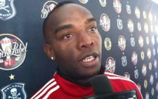 Orlando Pirates striker Benni McCarthy. Picture: Lelo Mzaca/EWN