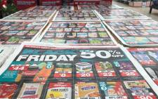 A pamphlet showing Black Friday deals at Checkers. Picture: Supplied.