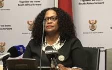 FILE: Communications Minister Nomvula Mokonyane. Picture: Lindsay Dentlinger/EWN