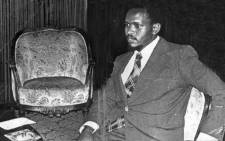 FILE: 1977 File photo shows Black Consciousness Movement (BCM) founder Steve Bantu Biko. Picture: AFP.