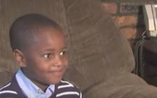 Four-year-old Austin Perine dreams of becoming the US president one day. Picture: CNN screengrab.