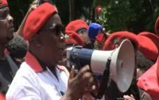 FILE: EFF leader Julius Malema has slated President Jacob Zuma for the Marikana shooting in 2012. Picture: EWN