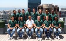 The Blitzbok squad ahead of the 2017 Cape Town Sevens tournament. Picture: Supplied
