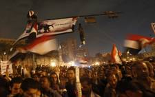 Tens of thousands of Egyptians protest in Cairo's Tahrir square against Egypt's military rulers late on November 24, 2011, as members of the ruling military council rejected calls to step down immediately. Picture: AFP.