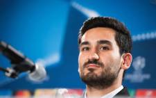 FILE: Manchester City's German midfielder Ilkay Gündogan. Picture: AFP.
