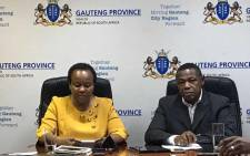 FILE: Gauteng Health MEC Gwen Ramokgopa. Picture: Masego Rahlaga/EWN