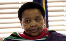 Minister for Women, Children and People with Disabilities Lulu Xingwana. Picture: Sapa.