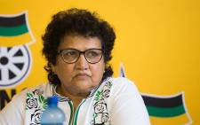 ANC deputy secretary-general Jessie Duarte briefs the media at the Absa Stadium in East London, on 12 January 2018. Picture: Christa van der Walt/EWN.