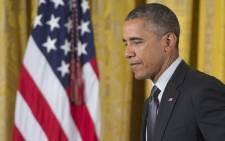 US President Barack Obama in Washington on 29 June 2015. Picture: AFP.