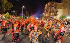 The Cape Town Carnival in the Cape Town. Picture: Twitter @CTCarnival.