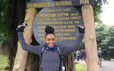 In memory of her husband Gugu Zulu who died last year, Letshego Zulu recently took part in the Trek4Mandela hike up Mount Kilimanjaro. Picture: @letshegozulu/Instagram.