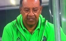 Orlando Pirates coach Augusto Palacios. Picture: Twitter @MOLOMOJANCO.