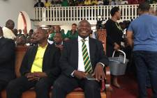 ANC president Cyril Ramaphosa pictured at the Ohlange High School in Inanda where the ANC honoured former presidents during its 106th birthday celebration, on 8 January, 2018. Picture: Ziyanda Ngcobo/EWN.