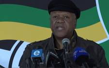 Minister in the Presidency Jeff Radebe. Picture: Louise McAuliffe/EWN.