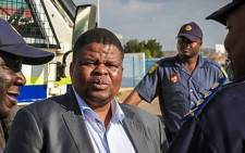 FILE: State Security Minister David Mahlobo. Picture: Supplied.