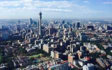 The Johannesburg skyline. Picture: Aki Anastasiou/EWN.