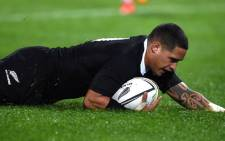 FILE: New Zealand All Blacks scrumhalf Aaron Smith. Picture: AFP.