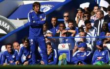 Chelsea Antonio Conte looks on during his team's first match of the new season. Picture: Twitter/@ChelseaFC.