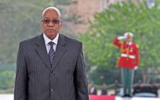 President Jacob Zuma in Algeria. Picture: GCIS.