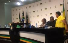 The African National Congress (ANC) subcommittee on economic transformation held a briefing at Luthuli House. Picture: Clement Manyathela/EWN.