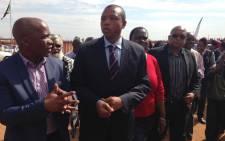 FILE: North West Premier Supra Mahumapelo. Picture: EWN.