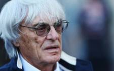 Formula One chief executive Bernie Ecclestone. Picture: AFP.
