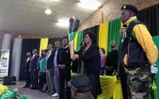 The ANC centenary torch in Alexandra on 17 June 2012. Picture: Jacob Moshokoa/EWN