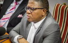 Police Minister Fikile Mbalula. Picture: Reinart Toerien/EWN
