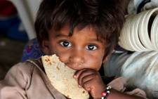 Malnutrition was the cause of 11 percent of child deaths in 2013. Picture: EPA/NADEEM KHAWER