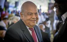 FILE: Pravin Gordhan at Ahmed Kathrada's funeral on 29 March 2017. Picture: Reinart Toerien/EWN