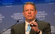 FILE: Al Gore, vice-president of the United States of America (1993-2001) Picture: World Economic Forum.