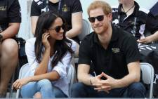 Prince Harry and Meghan Markle attend a Wheelchair Tennis match during the Invictus Games 2017 at Nathan Philips Square on September 25, 2017 in Toronto, Canada. Picture: AFP