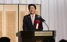 FILE: Japanese Prime Minister Shinzo Abe. Picture: @AbeShinzo.