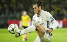 FILE: Real Madrid forward Gareth Bale controls the ball. Picture: AFP