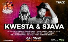 Kwesta and Sjava are expected to light up the stage at the first Roots music festival. Picture: Supplied.