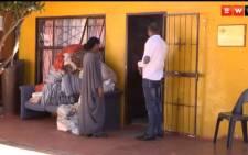 The alleged drug den in Eldorado Park where five minors were rescued. Picture: EWN