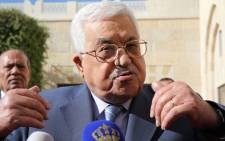 FILE: Palestinian President Mahmoud Abbas. Picture: AFP.
