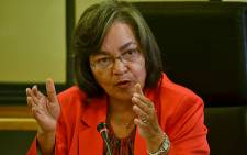 Cape Town Mayor Patricia de Lille. Picture: EWN.