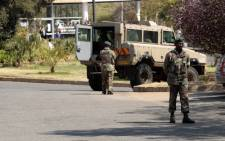 FILE: SANDF soldiers. Picture: EWN