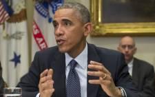 US President Barack Obama in November 2014. Picture: EPA.