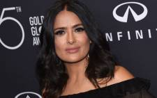This file photo taken on 15 November 2017 shows actress Salma Hayek attending the Hollywood Foreign Press Association (HFPA) and InStyle celebration of the 75th Annual Golden Globe Awards season in West Hollywood. Picture: AFP