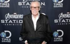 FILE: Legendary Marvel comic book writer Stan Lee. Picture: AFP