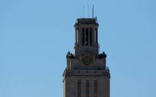 The general view of the University of Texas Tower on the University of Texas campus. Picture: Getty Images/AFP.
