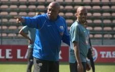 Bafana Bafana coach Shakes Mashaba. Picture: EWN.