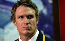Springbok captain Jean de Villiers following South Africa's victory over Argentina in their opening Rugby Championship match in Cape Town on 18 August 2012. Picture: Aletta Gardner/EWN