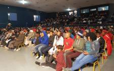 Mahikeng residents attend public hearings on amending Section 25 of the Constitution in order to expropriate land without compensation on 18 July 2018. Picture: @EFFSouthAfrica/Twitter.